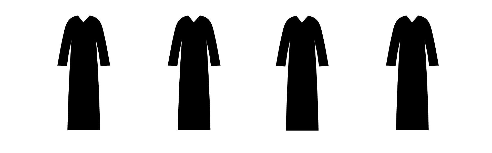 Plain Abayas